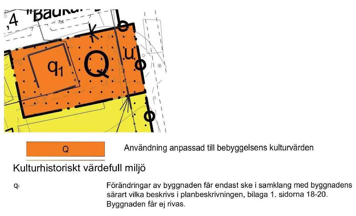 Gula Portens planbestämmelser i detaljplan DP202 Fabriksstaden